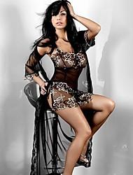 Demon European Sexy Lingerie(Black)-Q-56