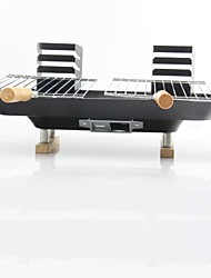 Steel Household Field Lovers Portable Charcoal Grill,43x39x19cm