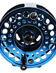 2 +1 roulements à billes de 120 mm alliage Al bleu Fly Fishing Reel