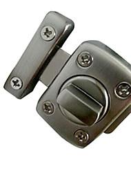 40mm × 56mm rectangulaire en alliage de zinc brossé Pour Maj intérieur, Porte, Porte Bolt