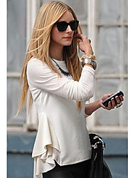 Women's Tops & Blouses , Chiffon/Cotton Sexy Ricci