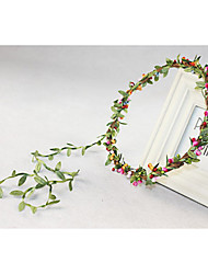Women's/Flower Girl's Plastic Headpiece - Wedding/Special Occasion Wreaths
