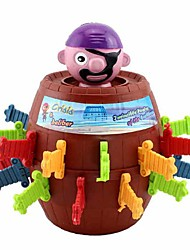 Grappig Lucky Stab Pop Up Toy Gadget Pirate Barrel Game