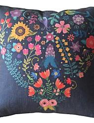 Oriental Retro floral abstrato fronha
