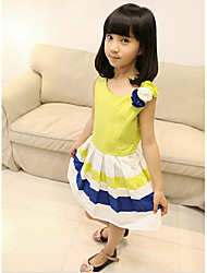 Kid's Dress , Rayon Casual BASDIO