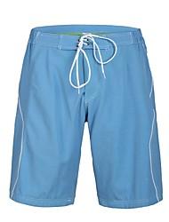 Herren Polyester Blau Shinning Surf Beach Short