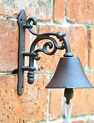 Retro American Country Style Minimalist Wall-mounted Cast Iron Door Bell