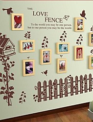 Coleção Photo Frame Set de 10 com adesivos de parede 41