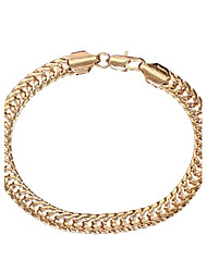 Women's Fashion Unique Design  21cm 18K Gold  Plated  Handchain