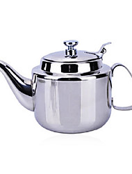0.8L High-quality Stainless Steel Teapot with Porous Filter