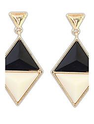 Earring Stud Earrings / Drop Earrings Jewelry Women Alloy / Resin 2pcs Silver