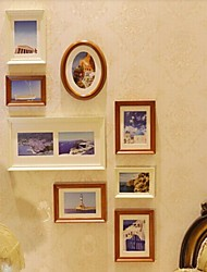 Mixed Color Photo Frame Collection Set von 8