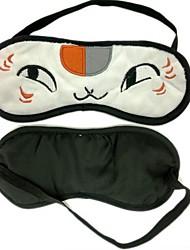 Máscara Inspirado por Natsume Yuujinchou Gato Anime Acessórios de Cosplay Máscara Branco Malha polar Masculino