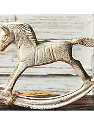 "5.1""H Vintage Cast Iron Rocking Horse"