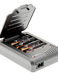 TrustFire 2400mAh 18650 (4 piezas) + TrustFire TF-003 Cargador de batería para 18650 (para 4 baterías)