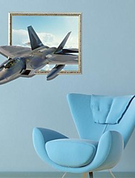 3D L'Aircraft Wall Stickers Wall Decals