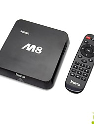 Jesurun M8 Quad-Core 4K Android 4.4 Google TV Player w / 2 Go DDRIII, 8 Go ROM, XBMC, Netflix