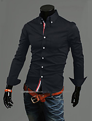 Simple shirt manches longues Homme