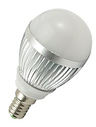 3W E14 LED Kugelbirnen 6 SMD 5730 260-290 lm Kühles Weiß AC 100-240 V