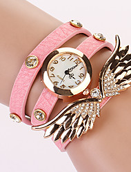 Koshi 2014 Women's Angel Wing 3Round Diamonade Watch (PINK)