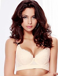 As mulheres atam Silk Protein cor sólida Shaping Bra