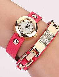 C & D de femmes mettent vis rivet bracelet femmes s'habillent montres xk-54