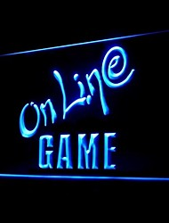 Online Game Advertising LED Light Sign