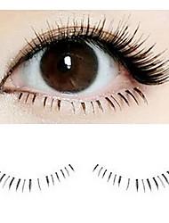1 Pair Fiber Lower False Eyelashes