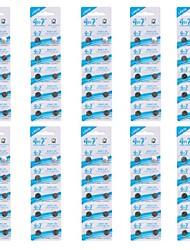 GOOP ag9/lr936/394/194 батареи клетки кнопки 1.5V щелочные (10 packs/100 шт)