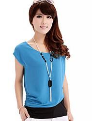 Women 's Ton-Naht Short Sleeve Chiffon-T-Shirt