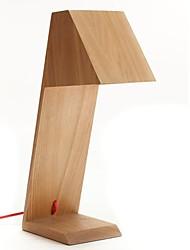 Diseño del estilo de la armadura característica L 220V LED Warm Lámparas de mesa de madera
