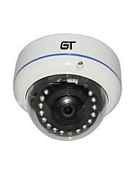 GT VIEW Full HD 1920 * 1080P 2.0Megapixel P2P Onvif IR-Cut Sicherheit wasserdichte Mini-IP-Dome-Kamera
