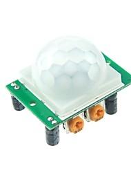 Module capteur humain HC-SR501 infrarouge pyroélectrique pour Arduino UNO R3 Mega 2560 Nano
