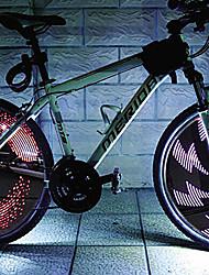 YELVQI LED Multi-modos falou Luz bicicleta Hot Wheels
