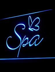Спа массаж лица реклама привело свет знак