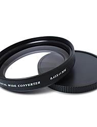 Zomei® Ultra Slim Multi-Coated AGC Optical Glass 0.45x Wide Angle Lens - 49mm