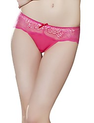 Cleo By Panache® Women's Semi-hollow Fashion Sexy Bow Solid Lace Panty