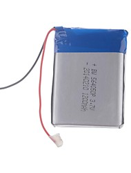 3.7V 1200mAh Lithium Polymer Battery for Cellphones  MP3  MP4(56*40*50)