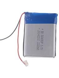 3.7V 1200mAh de litio polímero de litio para teléfonos móviles MP3 MP4 (56 * 40 * 50)