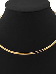 Necklace Torque Jewelry Wedding / Party / Daily / Casual Fashion Platinum Plated / Gold Plated Silver 1pc Gift