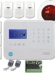 Contrôlé 2014 Espagnol / Allemagne / Français / Russe / Anglais / + App pour le système d'alarme sans fil