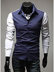 Men's Casual Shirts , Cotton/Cotton Blend Casual ManMax
