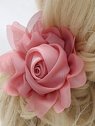 Women's/Flower Girl's Lace/Fabric Headpiece Flowers