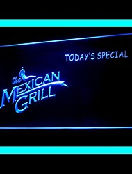 Mexican Grill Publicidade LED Sign