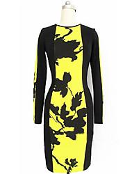 BLK stampa floreale Slim Bag Dress Hip tubino