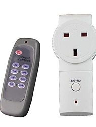 TS-868 UK Wireless UK Plug-in Mains Socket with Remote Control Switch Set