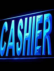 Cashier Customers Advertising LED Light Sign