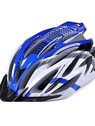 MTP 27 Vents EPS + PC Azul Integralmente-moldados Capacete de Ciclismo