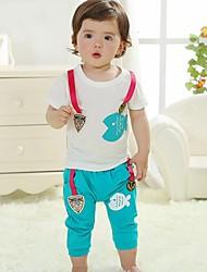 Kinder von Micro-Elastic Short Sleeve Kleidung Sets