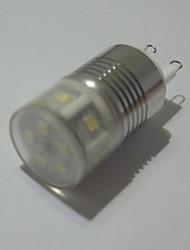 5W G9 Lâmpadas Espiga T 11 SMD 300 lm Branco Quente Decorativa AC 85-265 V